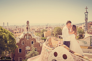 Post wedding photo session in Barcelona