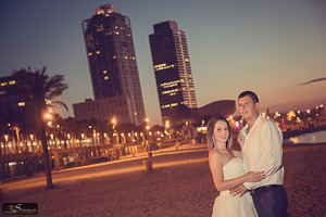 Pre wedding photoshoot in Barcelona
