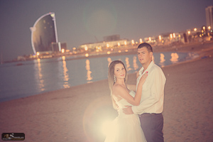 Post wedding photoshoot in Barcelona