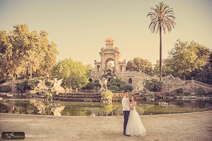 Park Citadel wedding photography Barcelona