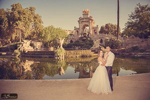 Park Citadel wedding photos Barcelona