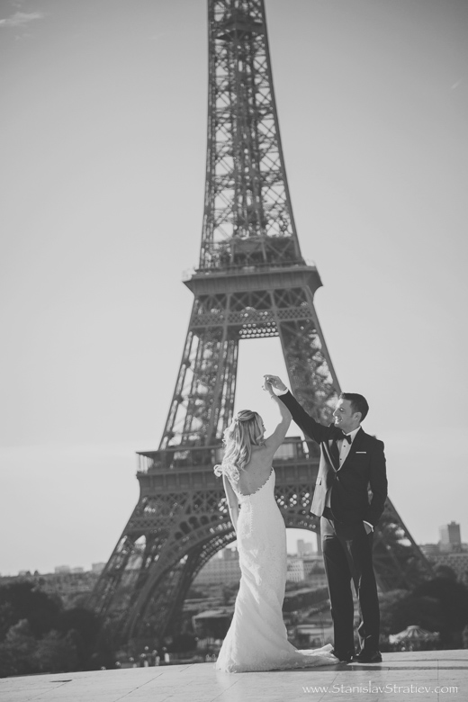 Wedding Photography in Paris, France