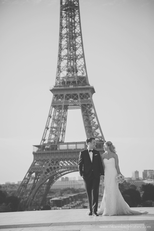 Wedding Photography Paris Eiffel Tower