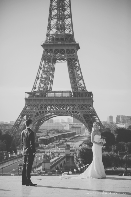 Wedding Photographer in Paris, France