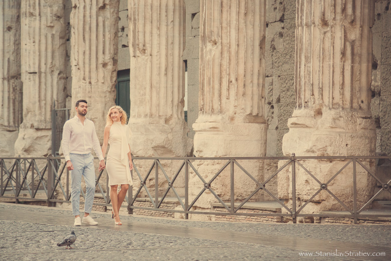 Romantic Photoshoot in Rome