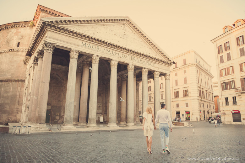 Photoshoot Pantheon in Rome