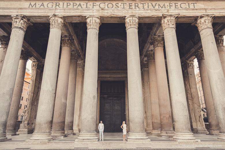 Photo Session Pantheon in Rome